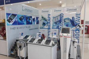 Thư mời tham quan gian hàng thiết bị Vật lý trị liệu ZIMMER tại triển lãm Y dược ngày 1 – 3/8/2019 tại TP HCM