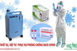 Hadimed phân phối thiết bị vật tư y tế phục vụ phòng chống dịch COVID